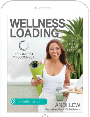 WELLNESS LOADING BOOK by Andi Lew